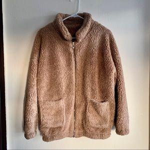 Tan Teddy Jacket